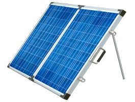 Painéis solares portáteis