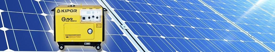 Geradores Elétricos diesel - Damia Solar