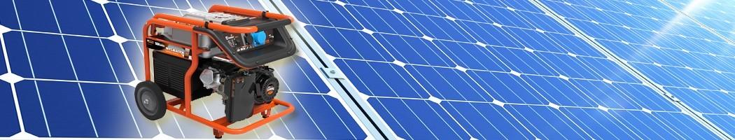 Generadores Elétricos gasolina - Damia Solar