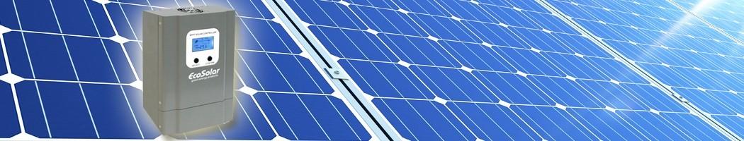Reguladores com ecrã - Damia Solar