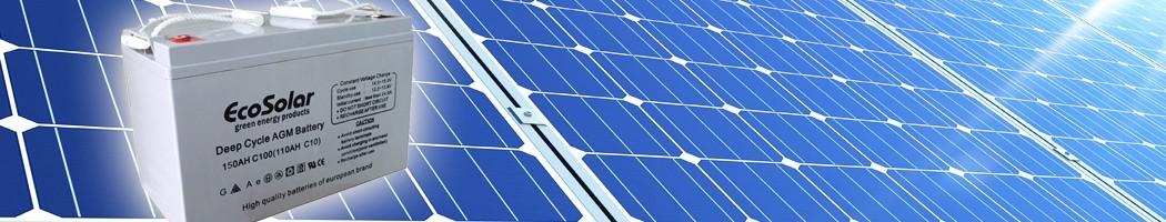 Baterías AGM - Damia Solar