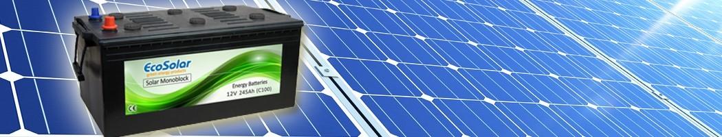Baterias Solares Monoblock - Damia Solar