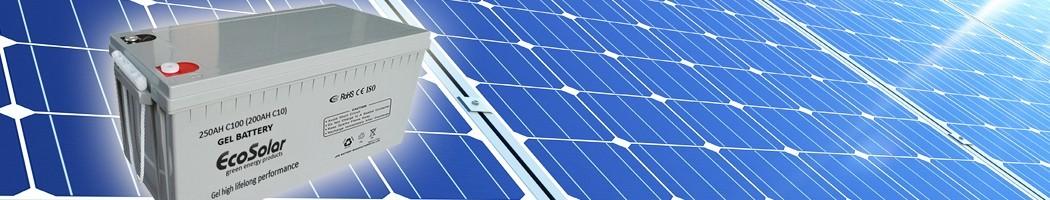 Baterías de Gel - Damia Solar