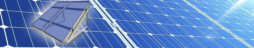 para superfície plana ou pouco inclinada - Damia Solar