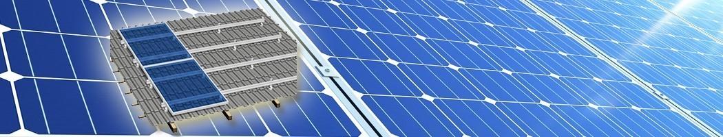 para telhado inclinado de 30 a 45 grados - Damia Solar
