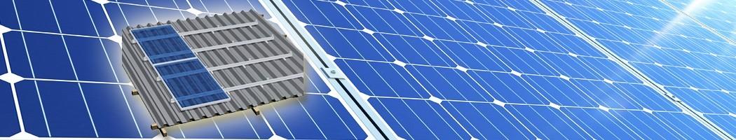 Estructura para tejados de chapa inclinados de 30 a 45 grados - Damia Solar