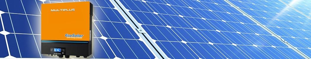 Inversores-Reguladores-Carregadores - Damia Solar