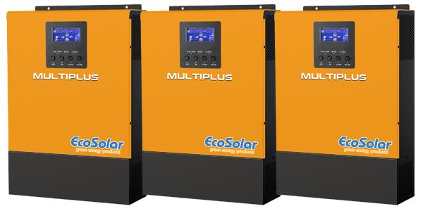Ecosolar Multiplus 3Kva MPPT 24V Zeta: Permite conectar hasta 6u. en paralelo