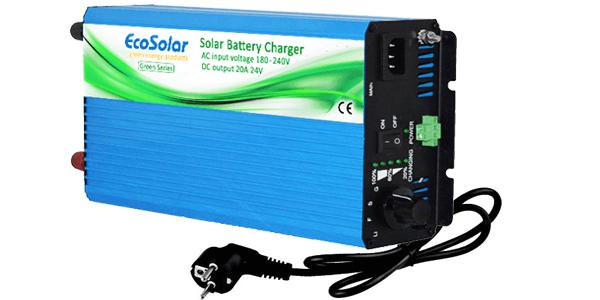 ¡Nuevos cargadores de baterías Ecosolar Green Series de 20A para 12V y 24V!