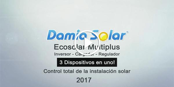 Novos modelos Ecosolar Multiplus 2017 para instalações solares!