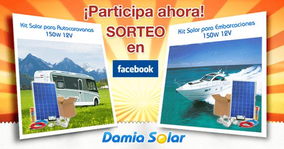 Sorteo en el Facebook de Damia Solar. Participa ahora!