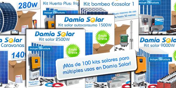 Damia Solar: Mais de 100 kits de energia solar para escolher!