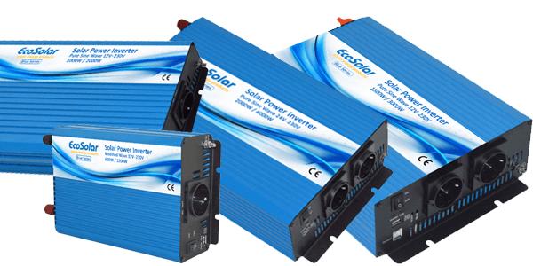 Ampliamos la gama de inversores de corriente Ecosolar Blue