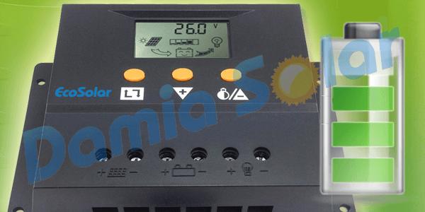 ¿Cómo saber la carga de las baterías solares?