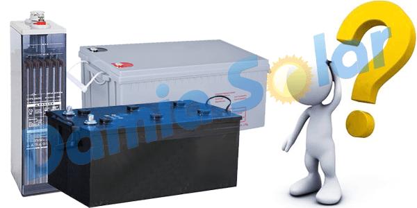 ¿Cómo saber si una batería solar está mal?