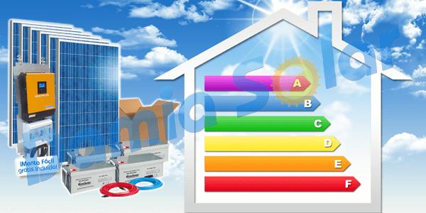 ¿De qué tamaño debe ser mi kit solar fotovoltaico?