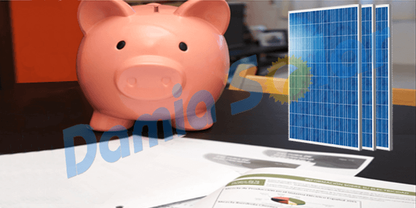 Como poupar dinheiro em electricidade graças à energia solar?