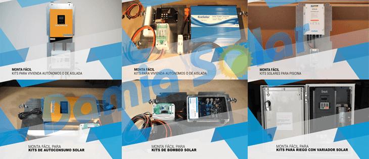 Realiza sólo el montaje final de tu kit solar gracias al Monta Fácil Damia Solar