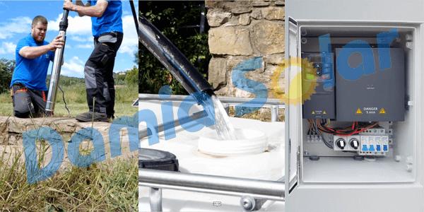Kits con variador solar: utiliza tu bomba de 230V o 380V con placas solares