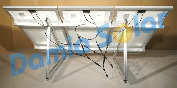 Formas de conectar las placas solares de la instalación o del kit solar