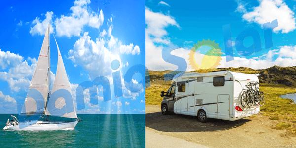 Amplia gama kits solares 2018 para autocaravanas, barcos a motor y a vela