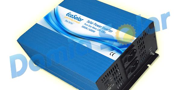 Nuevo Inversor onda pura Ecosolar Blue 3000W de potencia de 24V