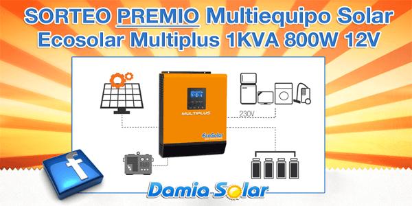 Nuevo sorteo en el Facebook de Damia Solar. ¡Participa ahora!