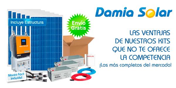 ¿Qué ofrecen los kits de Damia Solar y no te ofrecen los demás?
