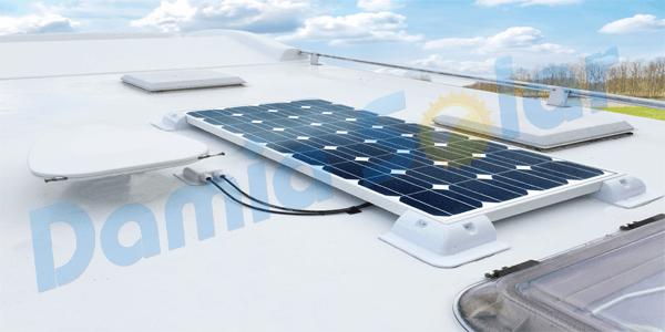 Kit solar de 24V en Caravana a 12V. ¡Solución para espacio limitado y potencia!