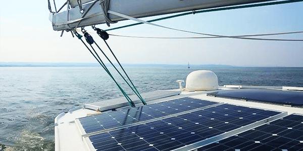 Instalaciones solares en barcas y embarcaciones