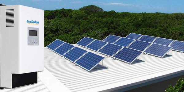 O regulador Ecosolar MPPT de 60A para instalações solares de 12V, 24V e 48V