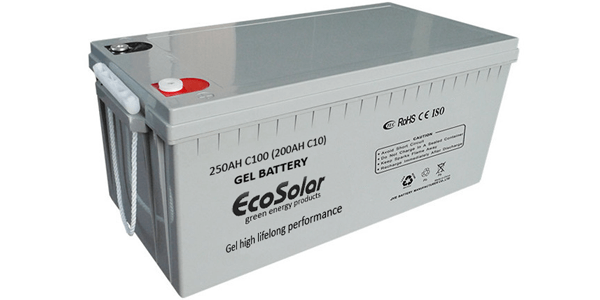 Las ventajas de las baterías de gel