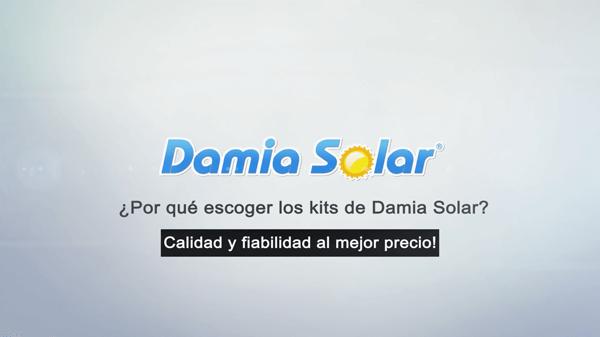 Porquê escolher os kits da Damia Solar?