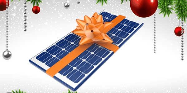 Regala un kit solar estas navidades para disfrutarlo todos los días del año!