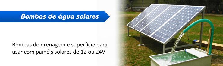 Bombas de gua solares submers vel bombeamento solar for Bombas solares para fuentes de jardin