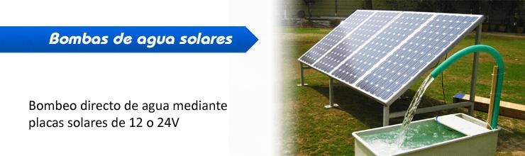 Bomba de agua solar bombeo for Bombas solares para fuentes de jardin