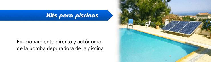 Kits para usar la bomba de piscina con paneles solares - Bomba piscina solar ...