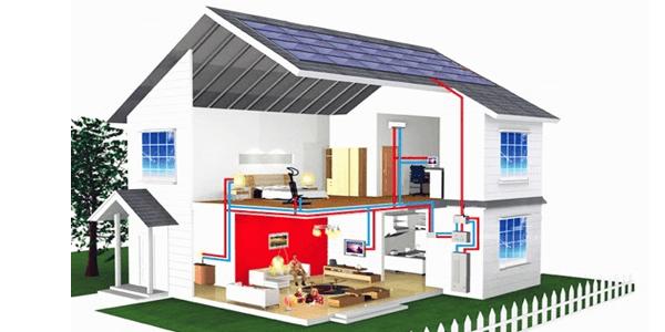 Cuales son los componentes de una instalaci n solar aut noma - Casas con placas solares ...