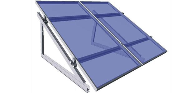 Tipos de estructuras para colocar los paneles solares for Montar placas solares en casa