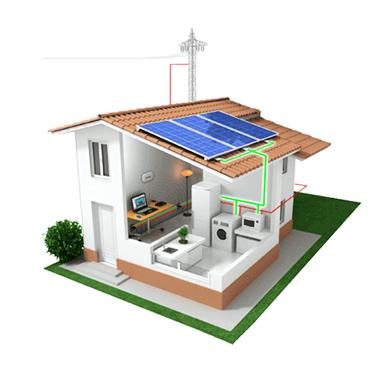Kit de autoconsumo solar 1500w injec o zero for Placas solares precios para una casa