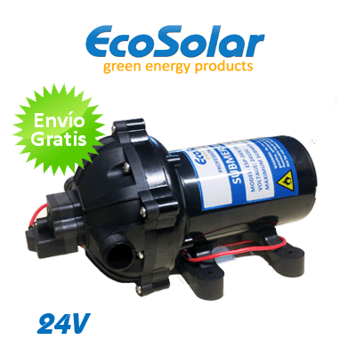 bomba de agua superficie ecosolar eco2420 24v