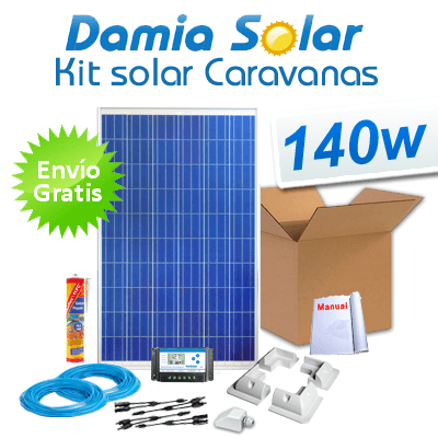 Kit placas fotovoltaicas para viviendas 12