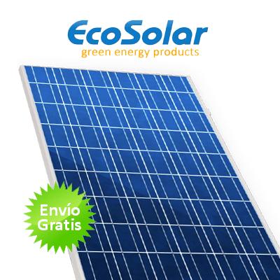 Panel solar ecosolar 260w alto rendimiento for Baterias placas solares