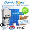 Kit autoconsumo solar 2kW monofásico Inyección Cero