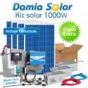 Kit solar casa de campo 1000W Onda Pura Blue
