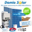 Kit autoconsumo solar 2kW monofásico con excedentes