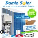 Kit autoconsumo solar 8kW trifásico con excedentes
