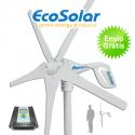 Aerogenerador Ecosolar Aero 400 12V - Potencia max. 600W