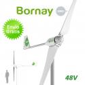 Aerogenerador Bornay 1500W 48V - Energía eólica