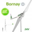 Aerogenerador Bornay 3000W 24V - Energía eólica